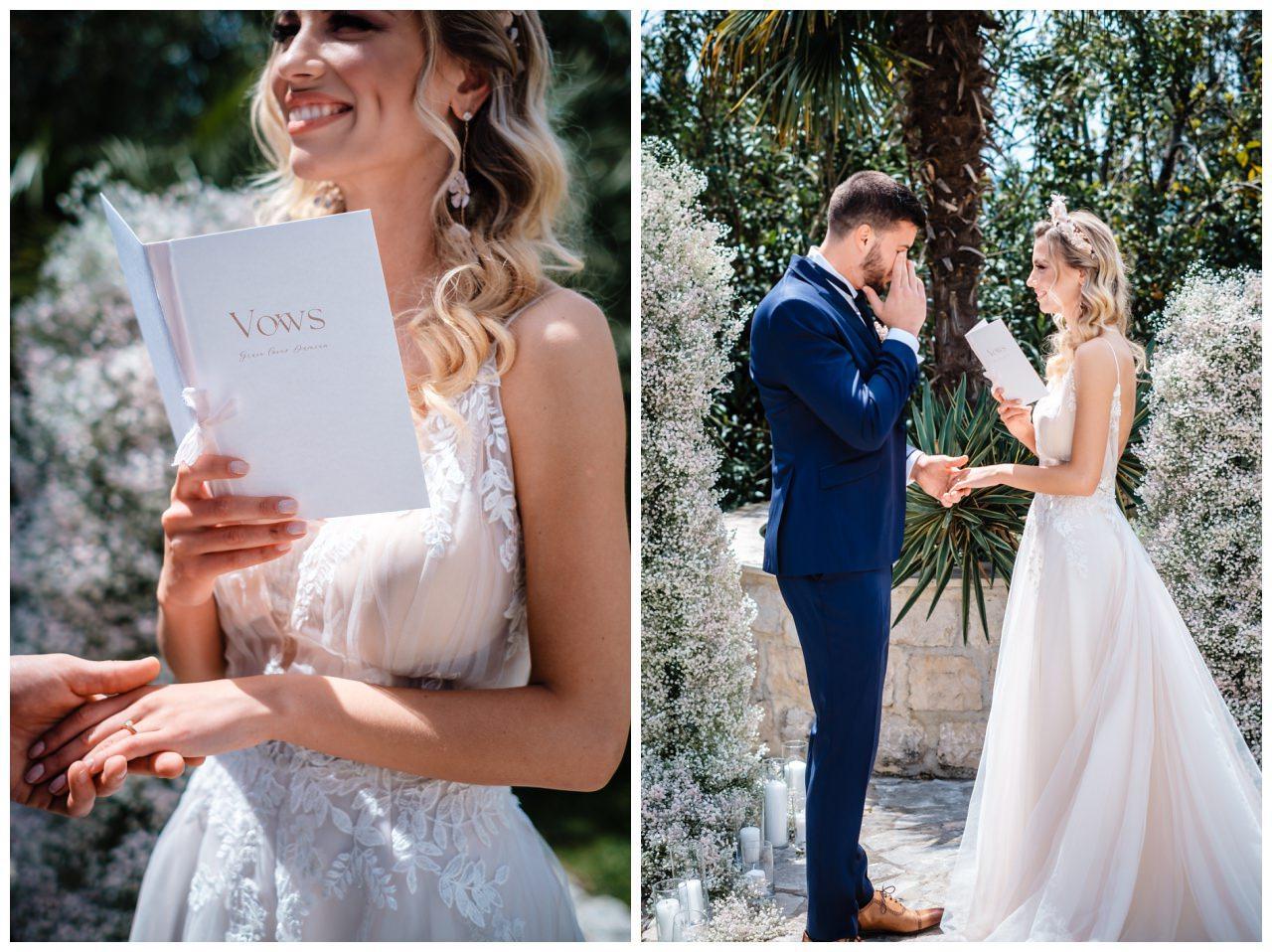 Hochzeit Villa Kroatien Hochzeitsplanung Fotograf 10 - Romantische Hochzeit in einer Villa