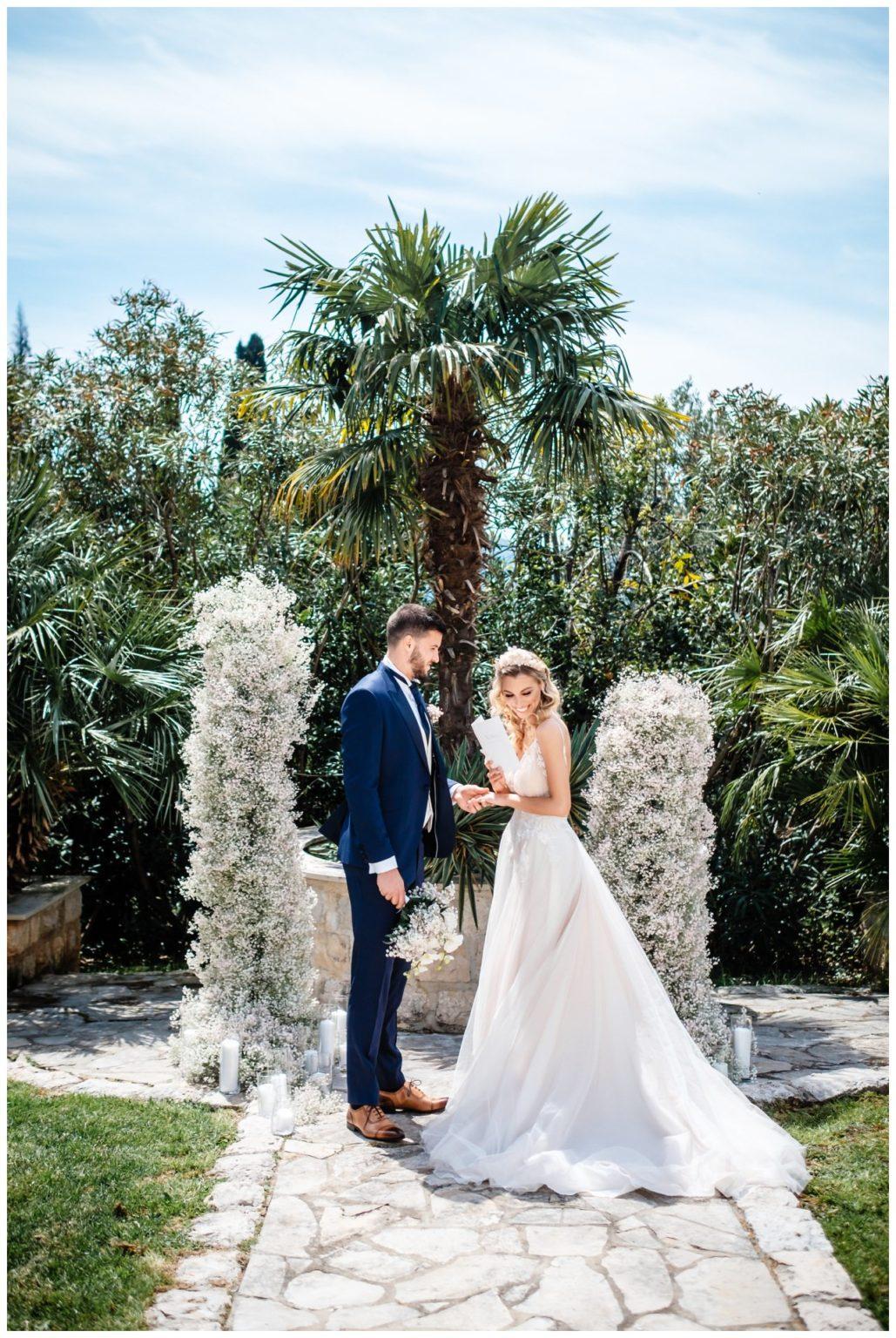 Hochzeit Villa Kroatien Hochzeitsplanung Fotograf 11 - Romantische Hochzeit in einer Villa