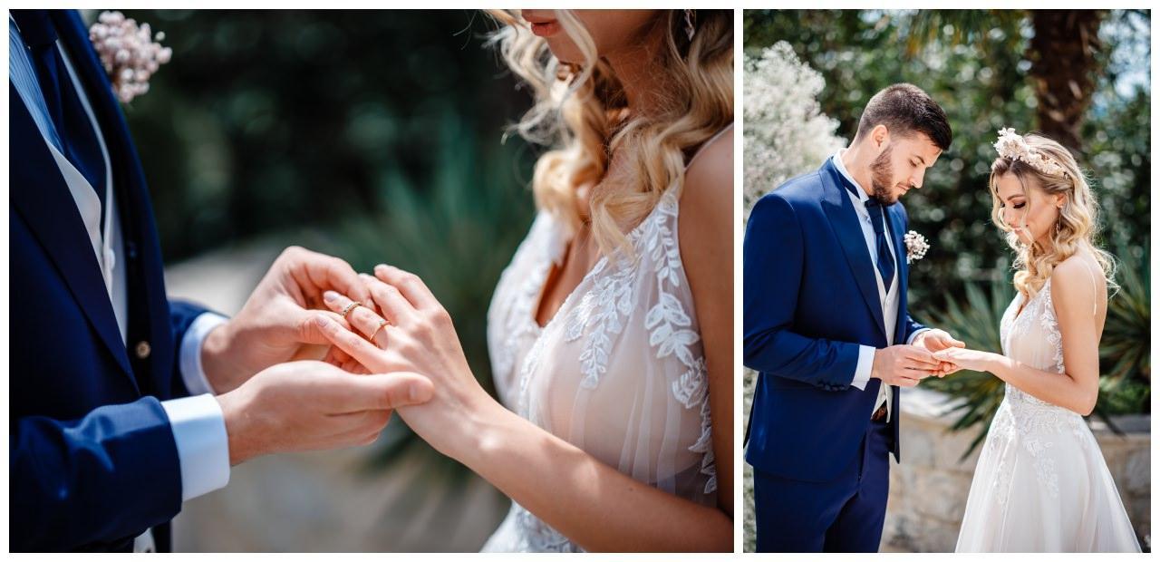 Hochzeit Villa Kroatien Hochzeitsplanung Fotograf 12 - Romantische Hochzeit in einer Villa