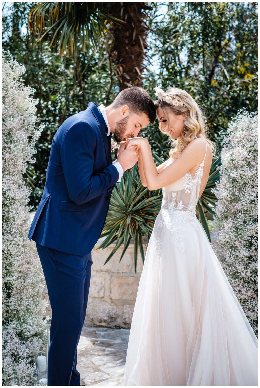 Hochzeit Villa Kroatien Hochzeitsplanung Fotograf 13 - Romantische Hochzeit in einer Villa