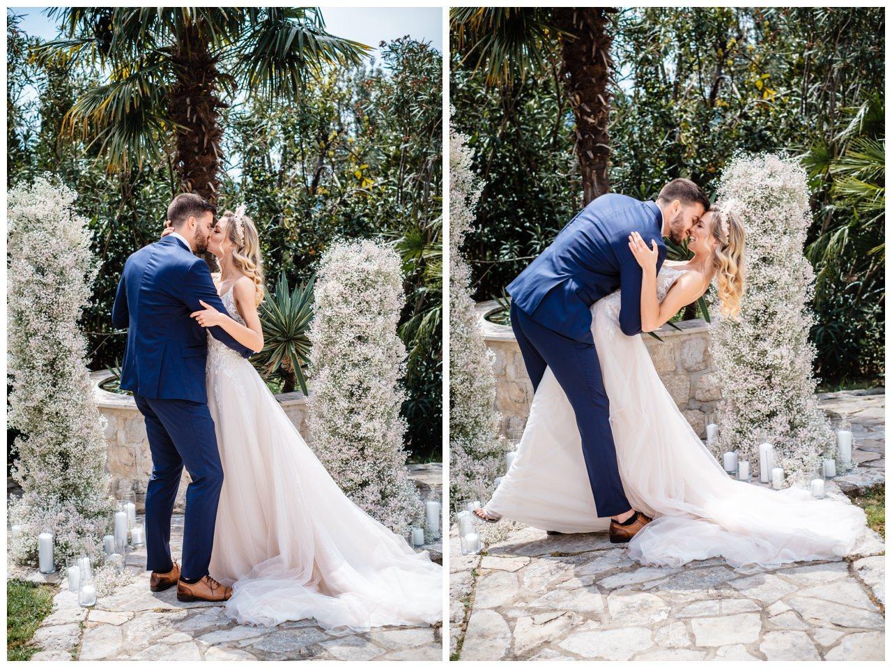 Hochzeit Villa Kroatien Hochzeitsplanung Fotograf 14 - Romantische Hochzeit in einer Villa