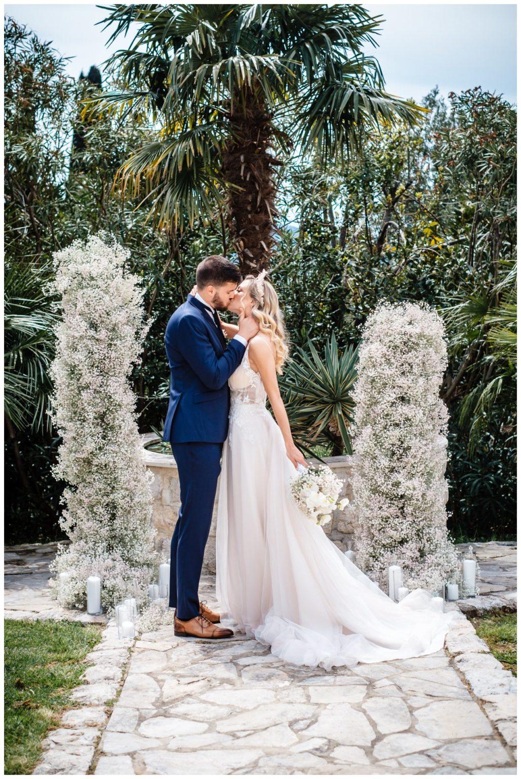 Hochzeit Villa Kroatien Hochzeitsplanung Fotograf 15 - Romantische Hochzeit in einer Villa