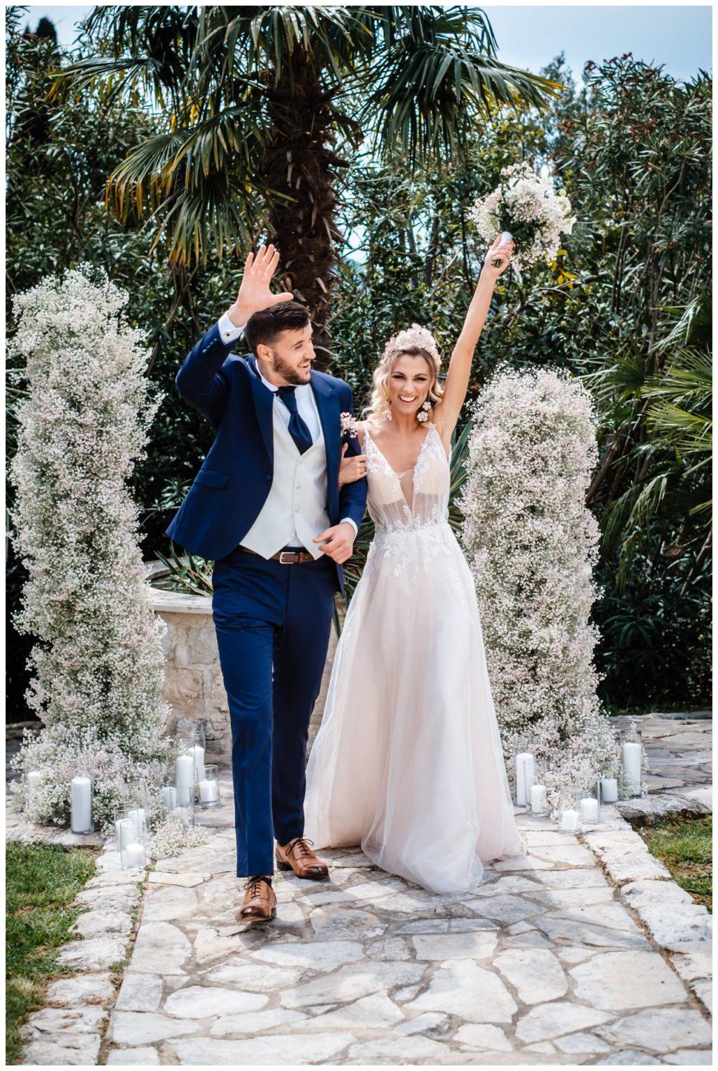 Hochzeit Villa Kroatien Hochzeitsplanung Fotograf 16 - Romantische Hochzeit in einer Villa