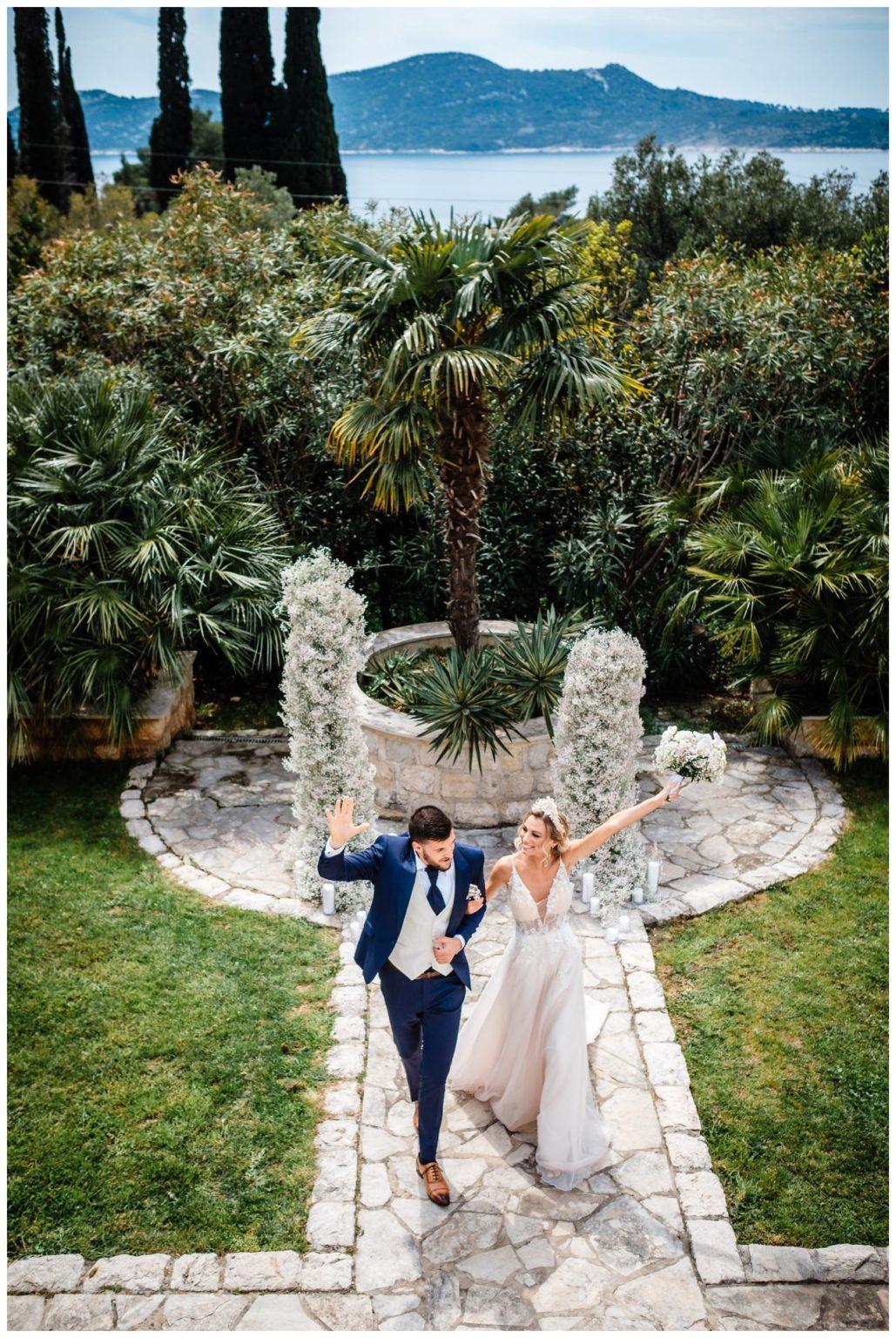 Hochzeit Villa Kroatien Hochzeitsplanung Fotograf 18 - Romantische Hochzeit in einer Villa