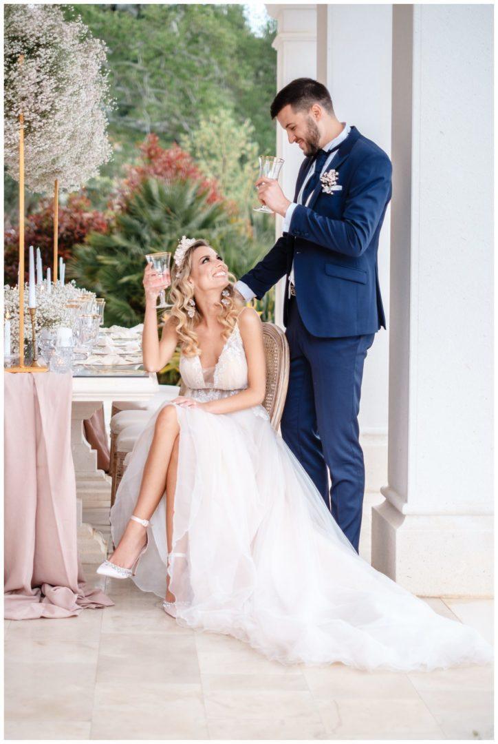 Hochzeit Villa Kroatien Hochzeitsplanung Fotograf 30 - Romantische Hochzeit in einer Villa