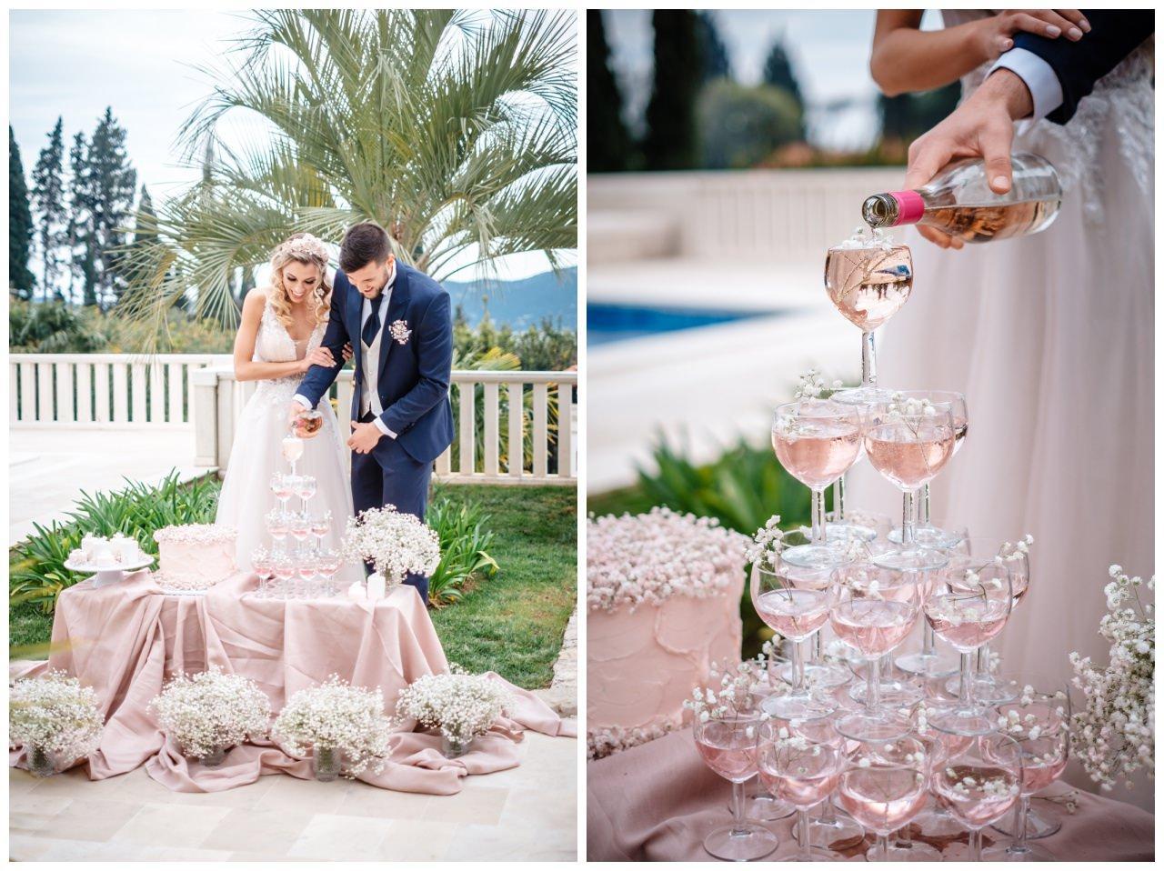 Hochzeit Villa Kroatien Hochzeitsplanung Fotograf 34 - Romantische Hochzeit in einer Villa