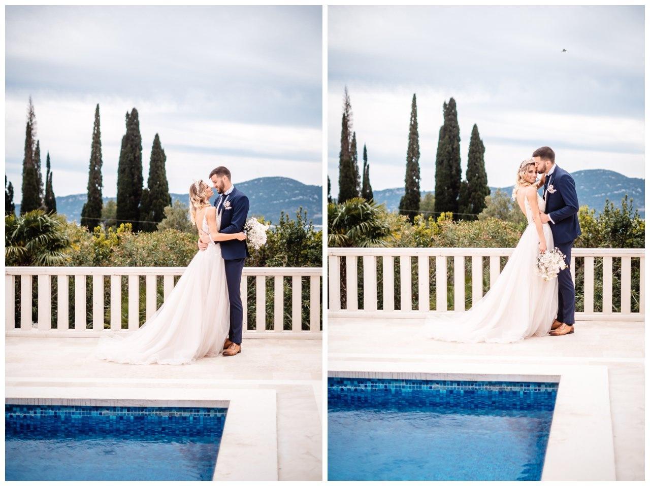 Hochzeit Villa Kroatien Hochzeitsplanung Fotograf 35 - Romantische Hochzeit in einer Villa