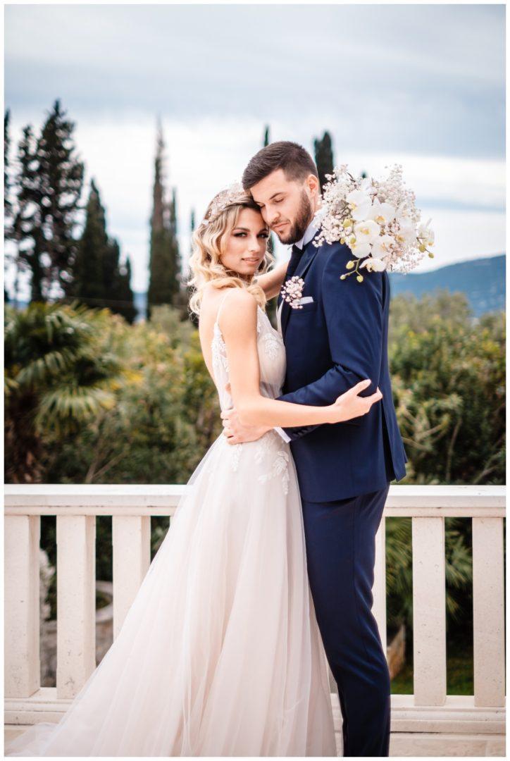 Hochzeit Villa Kroatien Hochzeitsplanung Fotograf 36 - Romantische Hochzeit in einer Villa