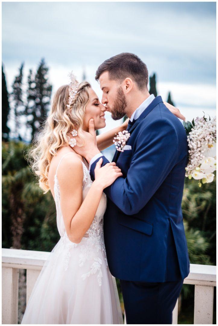 Hochzeit Villa Kroatien Hochzeitsplanung Fotograf 38 - Romantische Hochzeit in einer Villa