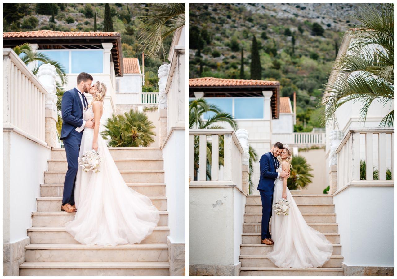 Hochzeit Villa Kroatien Hochzeitsplanung Fotograf 41 - Romantische Hochzeit in einer Villa
