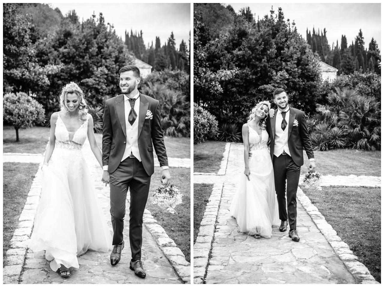 Hochzeit Villa Kroatien Hochzeitsplanung Fotograf 43 - Romantische Hochzeit in einer Villa