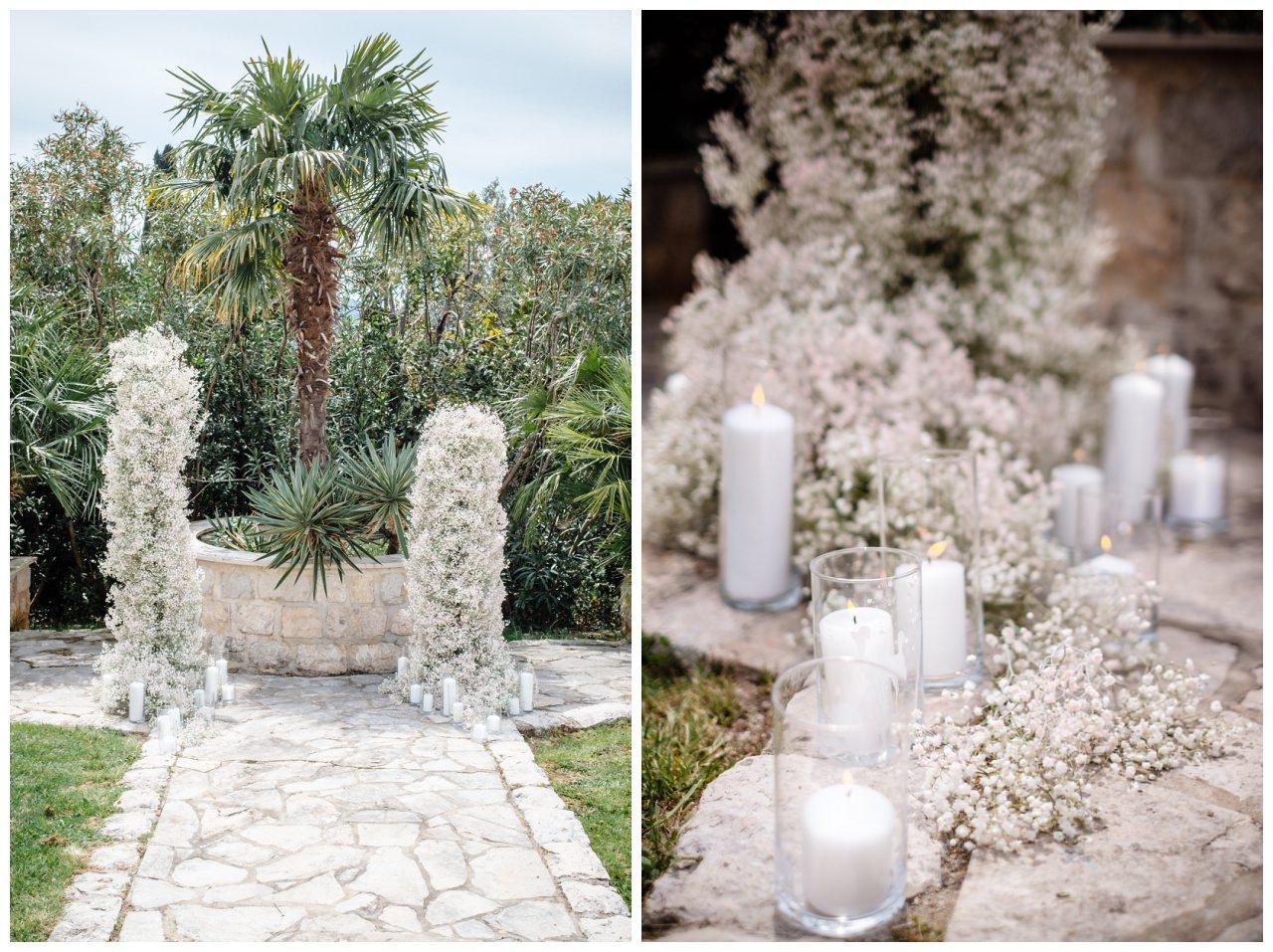 Hochzeit Villa Kroatien Hochzeitsplanung Fotograf 6 - Romantische Hochzeit in einer Villa